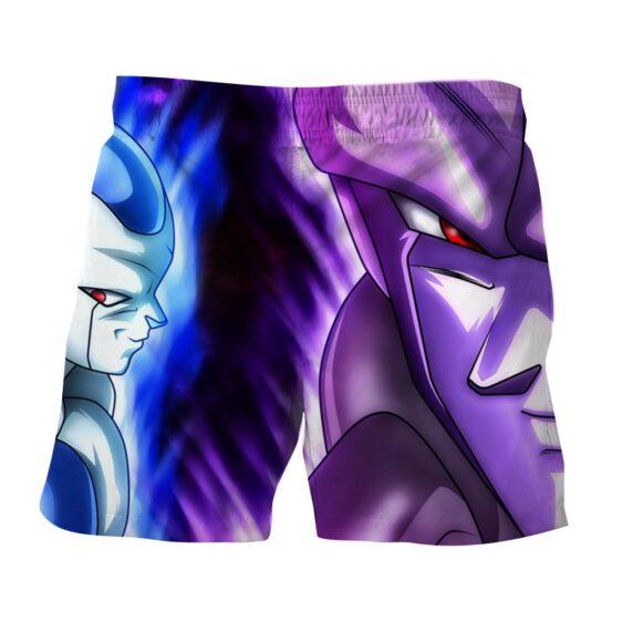 Dragon Ball Purple Frieza Stylish Design Full Print Shorts