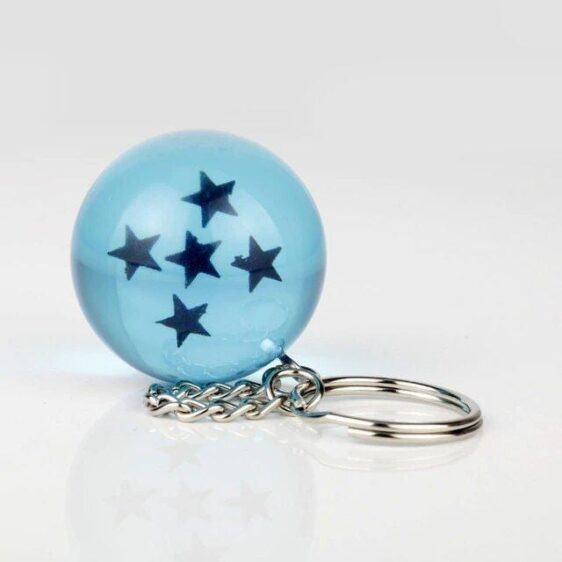 Dragon Ball Z Blue Dragon Ball Eye-Catching Keychain