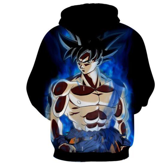 Dragon Ball Son Goku Battle Muscular Portrait Cool Hoodie
