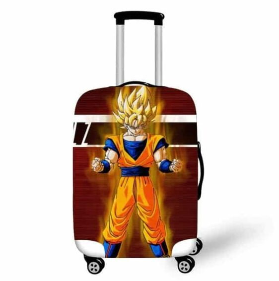 Dragon Ball Z SSJ1 Son Goku Suitcase Protective Cover