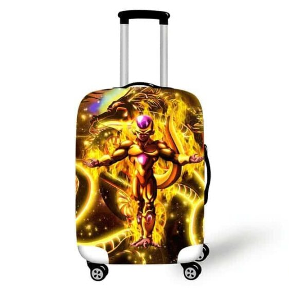 Frieza Golden Form With Shenron Protective Suitcase Cover