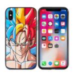 Goku SSJ Blue Yellow Red Hair iPhone 11 (Pro & Pro Max) Case
