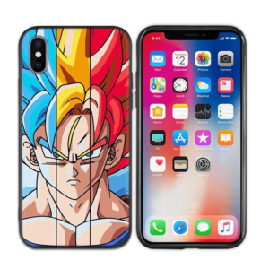 Goku SSJ Blue Yellow Red Hair iPhone 11 (Pro & Pro Max) Case