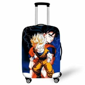Angry Son Gohan And Son Goku Suitcase Protective Cover