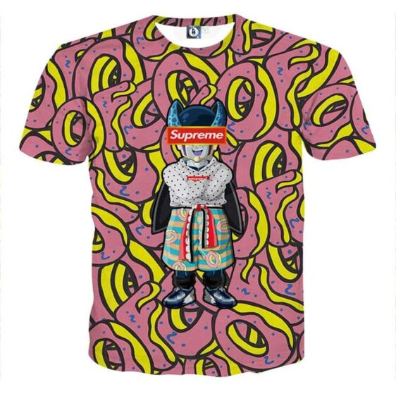 Modern Art Supreme Villain Perfect Cell Streetwear T-shirt