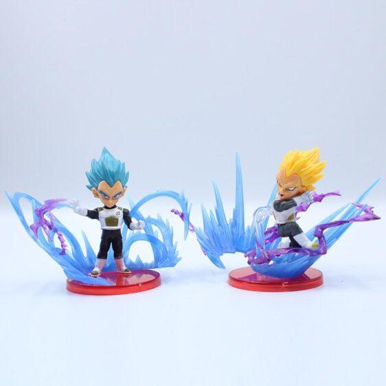Super Saiyan Characters Broly & Frieza Action Figure Set