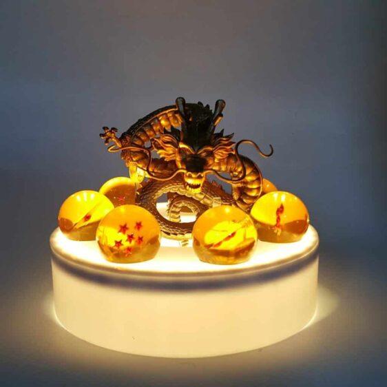 DBZ Golden Shenron 1-7 Stars Dragon Balls Set White DIY 3D Light Lamp