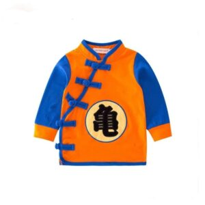 Dragon Ball Z Kanji Logo Long Sleeve Cosplay Baby Sweatshirt