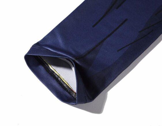 Bardock Armor Green Black Waist Fitness Gym Compression Leggings Pants - Saiyan Stuff - 6