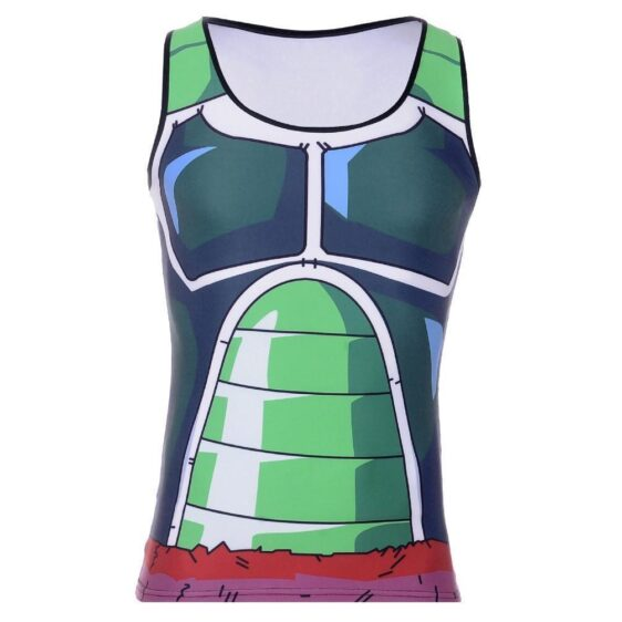 Bardock Saiyan Army Battle Suit Armor 3D Skin Compression Tank Top