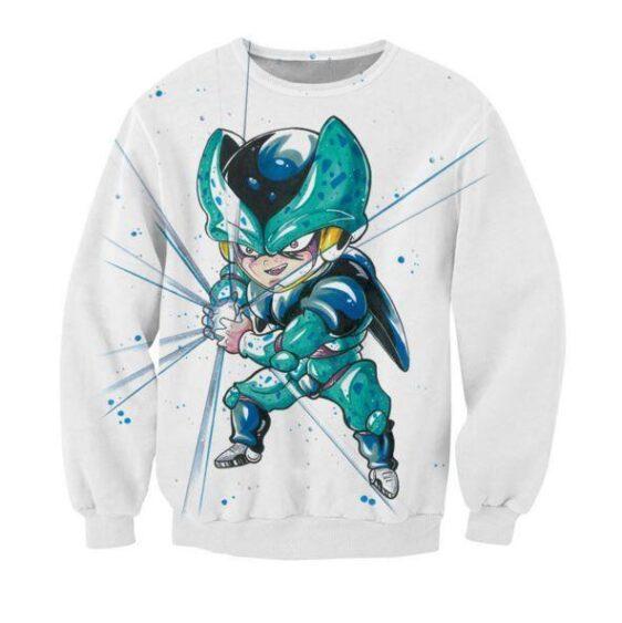 Cute Baby Kid Mini Cell DBZ Cell Junior Fun Sweatshirt - Saiyan Stuff