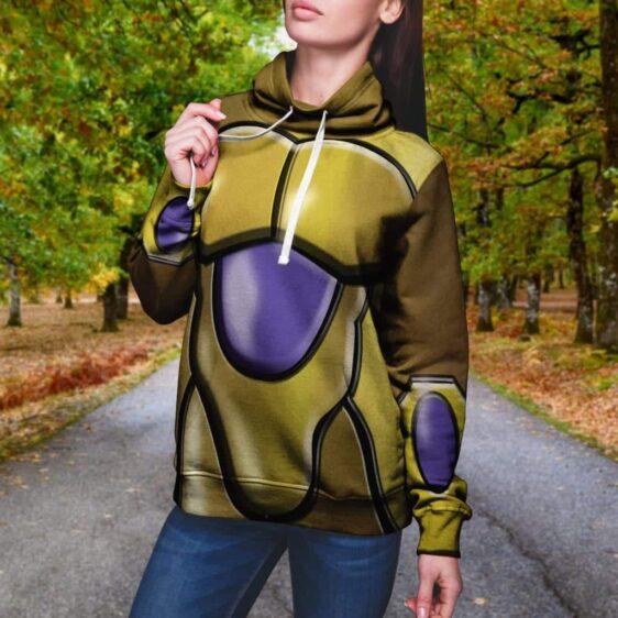 Dragon Ball Z Perfected Golden Frieza Body Armor Hoodie