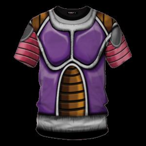 Dragon Ball Z Frieza Classical Body Armor Cosplay T-Shirt