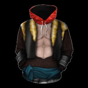 Dragon Ball Z Gogeta Super Saiyan Suit Pullover Hoodie