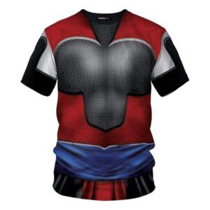 Dragon Ball Z Gohan Inspired Cosplay T-Shirt Super Saiyan 4