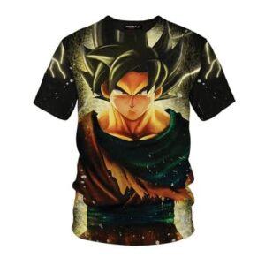Dragon Ball Z The Remarkable Son Goku Black Pullover T-Shirt