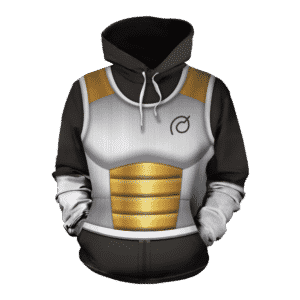 DragonBall Xenoverse 2 Vegeta Black Armor Suit Cosplay Hoodie