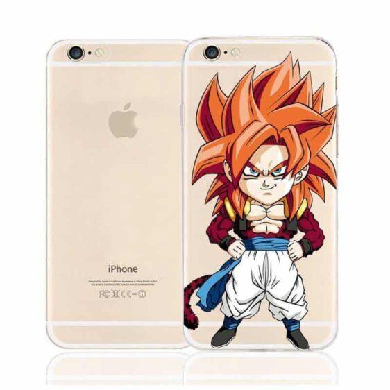 DBZ Cute Chibi Gogeta SSJ4 Monkey Character Back Cover for iPhone 6 6s Plus