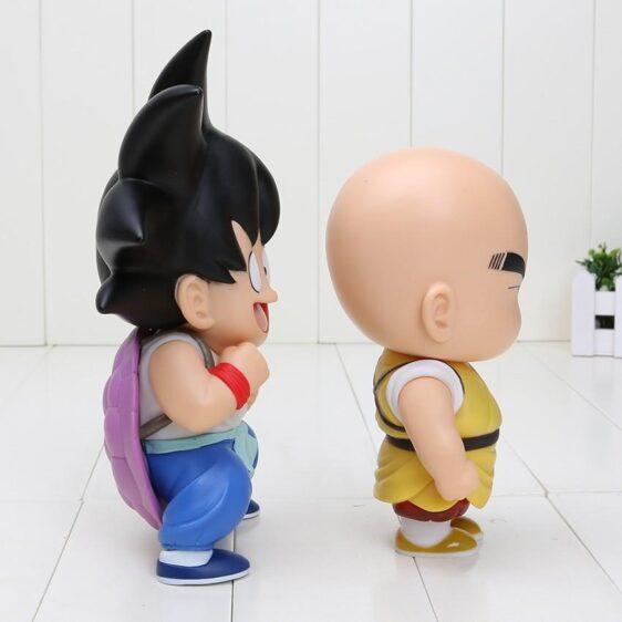 DBZ Cute Teen Kid Goku Krillin Collection 1 set 2 pieces Anime PVC Figure Toys - Saiyan Stuff - 2