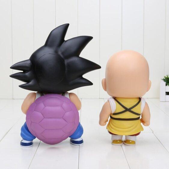 DBZ Cute Teen Kid Goku Krillin Collection 1 set 2 pieces Anime PVC Figure Toys - Saiyan Stuff - 3