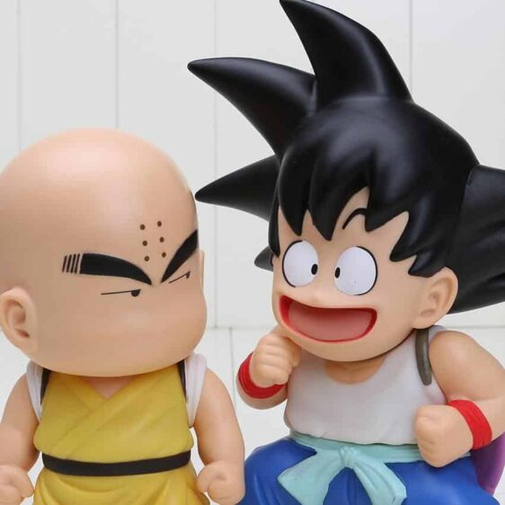 DBZ Cute Teen Kid Goku Krillin Collection 1 set 2 pieces Anime PVC Figure Toys - Saiyan Stuff - 5