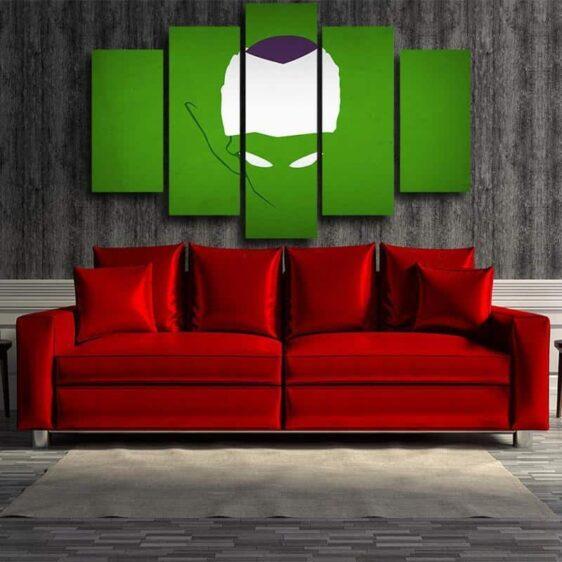 DBZ Evil King Piccolo Urban Minimalist Interior 5pc Canvas Prints Wall Art