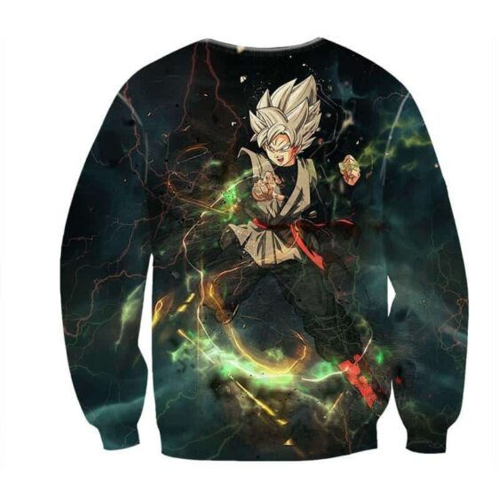 DBZ Goku Black Fusion Zamasu Villain Super Saiyan Design Sweatshirt
