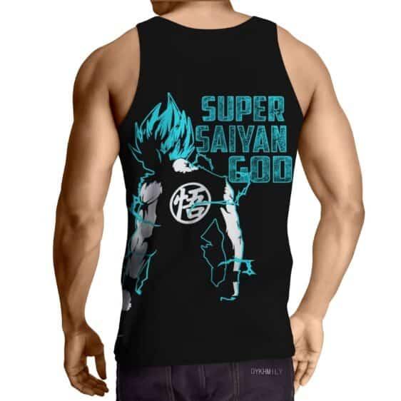 DBZ Goku SSGSS Symbol God Blue Saiyan Awesome Concept Tank Top