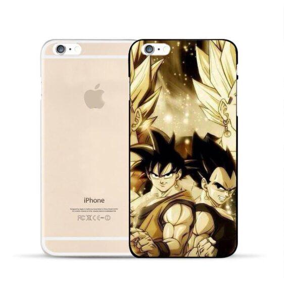 Dragon Ball Goku Vegeta Potara Fusion Super Saiyan iPhone 5 6 7 s Plus Case