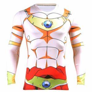 DBZ Legendary Super Saiyan Broly 3D Long Sleeves Compression T-Shirt