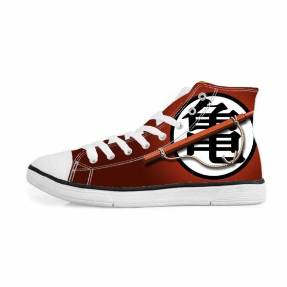 DBZ Master Roshi Japan Kanji Minimalist Sneakers Converse Shoes