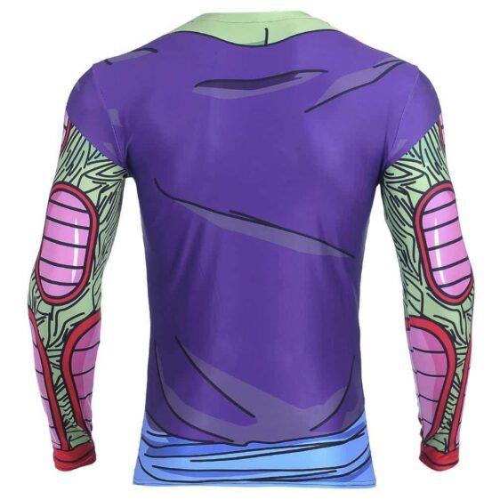DBZ Piccolo Green Man 3D Fitness Cosplay Long Sleeves T-Shirt