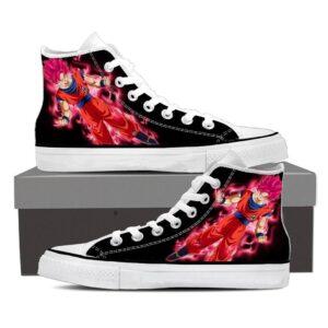 DBZ Red Son Goku Super Saiyan God Legendary Sneaker Shoes