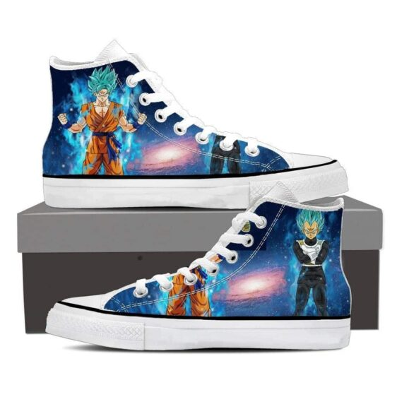 DBZ Serious Son Goku Vegeta Super Saiyan Cool Sneaker Shoes