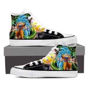 DBZ Son Goku Legendary Super Saiyan Blue 3 Sneaker Shoes