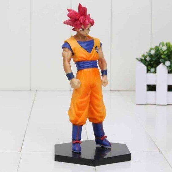 DBZ Son Goku Super Saiyan God Transformation Collectible Action Figure - Saiyan Stuff - 1