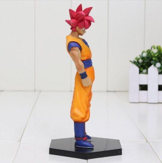 DBZ Son Goku Super Saiyan God Transformation Collectible Action Figure - Saiyan Stuff - 2