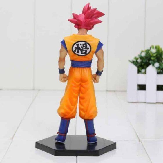 DBZ Son Goku Super Saiyan God Transformation Collectible Action Figure - Saiyan Stuff - 3