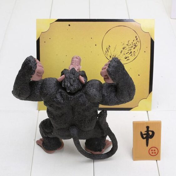 DBZ Son Goku Transformation Great Ape Monkey PVC Action Figure 13cm - Saiyan Stuff - 3