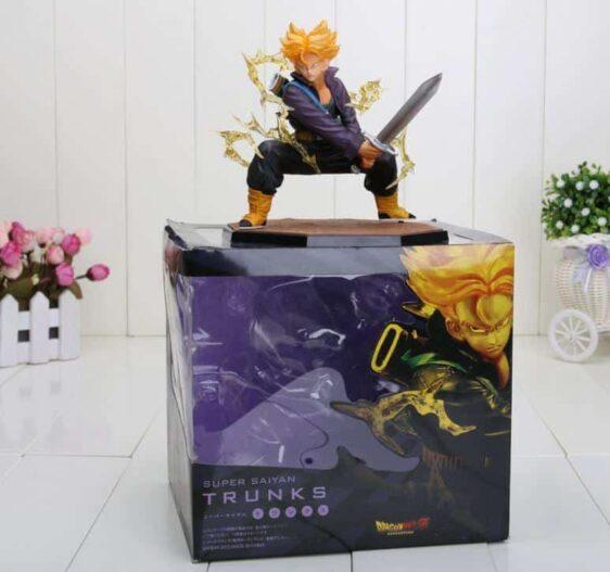 DBZ Super Saiyan Trunks Battle Version Action Figure 6' 14cm - Saiyan Stuff