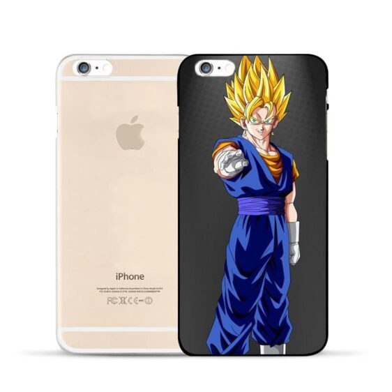 DBZ Vegeto Potara Fusion Super Saiyan Powerful Character Hard PC iPhone 5 6 7 s Plus Case