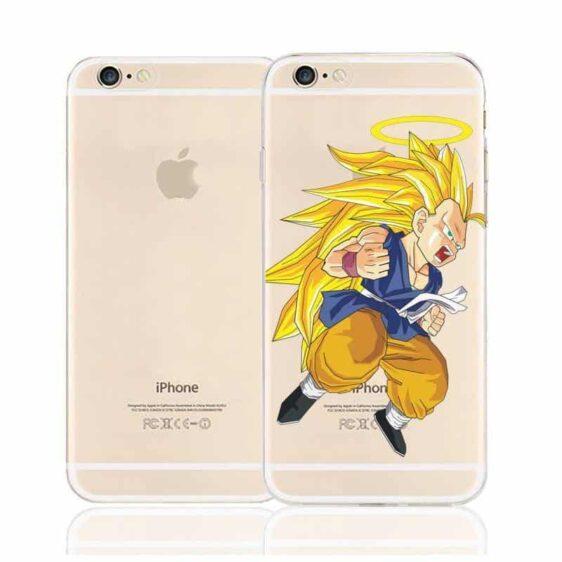 DBZ Goku Super Saiyan SSJ3 Angel Character Back Cover for iPhone 6 6s Plus