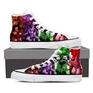 DBZ Villain Frieza Raditz Cell Buu Epic Sneaker Shoes