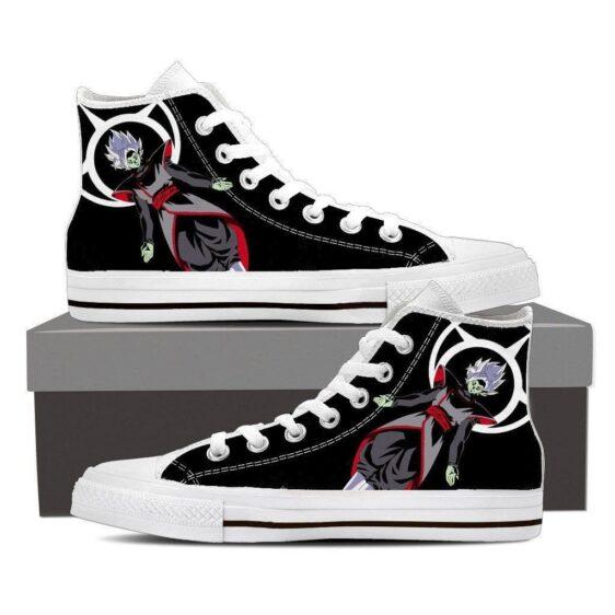 DBZ Zamasu Kami Villain Dark Theme Converse Design Sneaker Shoes