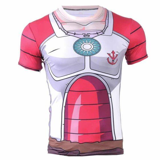 DBZ - King Vegeta Skin Gear Armour 3D Fitness T-Shirt