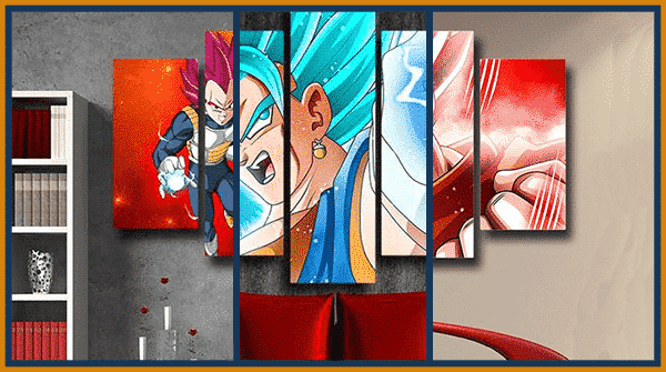 Decorate your Room With The Best DBZ Wall Art Canvas Of 2021