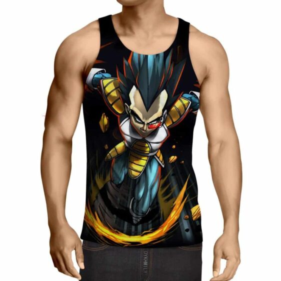 Dragon Ball Armored Vegeta Double Galick Cannon Summer Tank Top