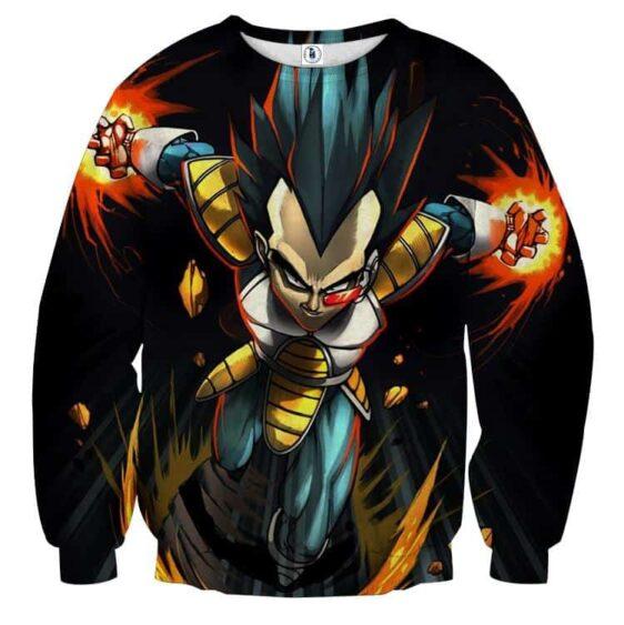 Dragon Ball Armored Vegeta Double Galick Cannon Sweatshirt