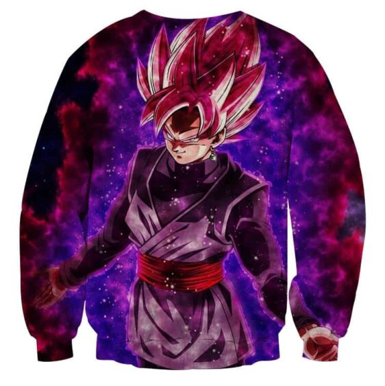 Dragon Ball Black Goku Rose 2 Ultra Instinct Dope Sweatshirt