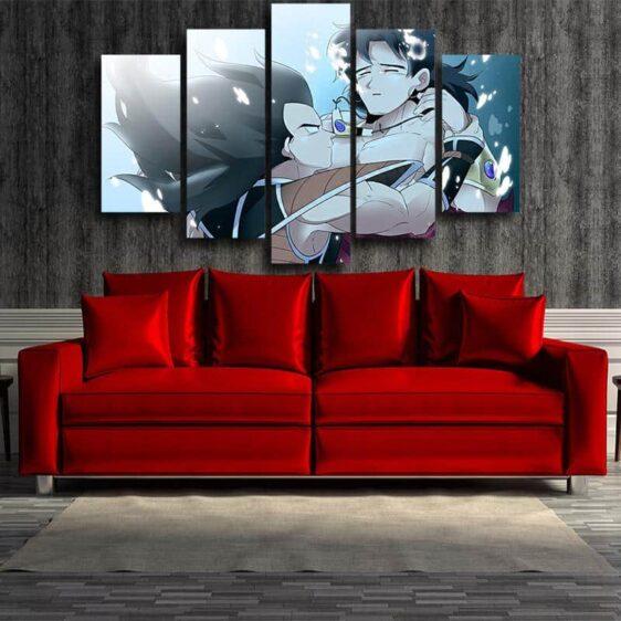 Dragon Ball Broly Bardock Shounen 5pc Wall Art Decor Posters Canvas Prints